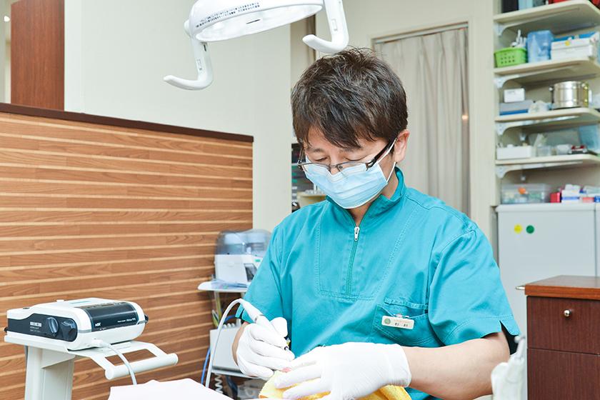 杉村歯科医院 治療の流れ